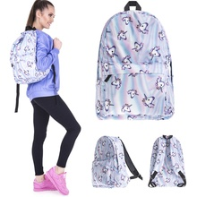 Backpack Multi Color Rainbow College School Bag Travel Rucksack New Laptop Tablet PC Sleeve Case Bag For Women