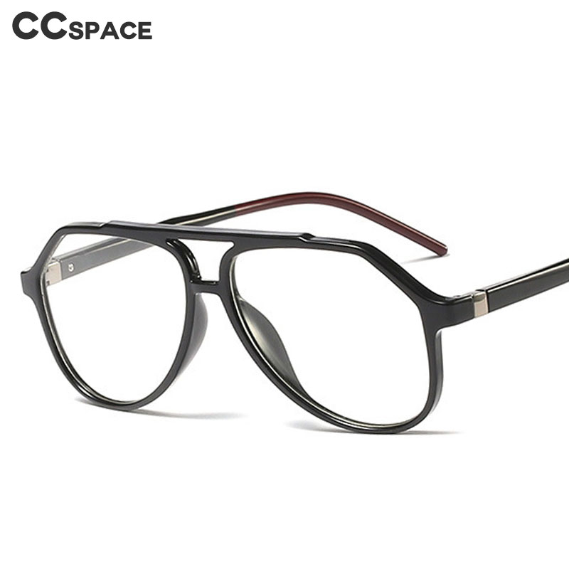 45920 TR90 Big Frame Personality Glasses Frames Men Women Optical Fashion Computer Glasses