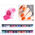 24 Colors 3D Velvet Flocking Powder Nail Art Decorations Acrylic Polish Tips Manicure Nails Decorations New Arrive 32071