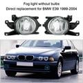 Противотуманные Фары для BMW E39 1 Пара Левый и Правый Передние Противотуманные свет без Лампы Замена Комплект для BMW E39 для BMW Противотуманные Фары лампы