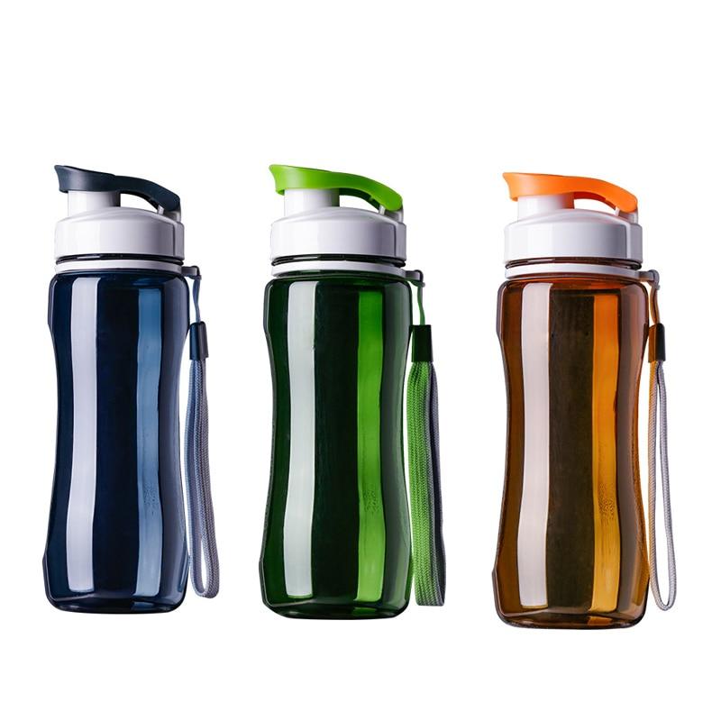 19 oz & 24 oz-ספורט מים בקבוק נייד דליפת הוכחה עבור SportsTravel שטח אופני טיולי פלסטיק מים בקבוק drinkware