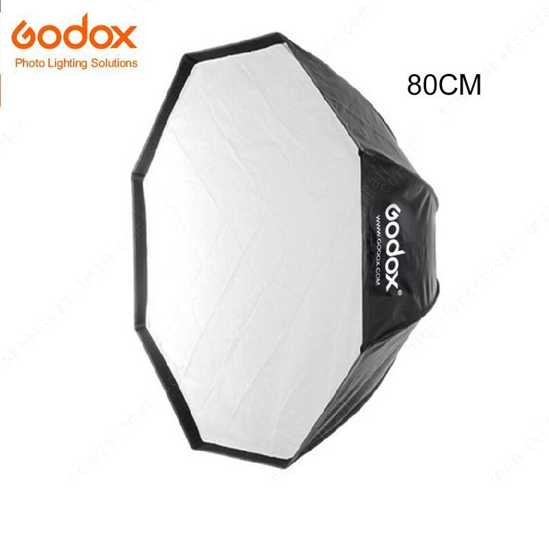 Godox Umbrella 80CM Portable Octagon 80cm/31.5in Umbrella Softbox Flash light Softbox for Studio Photo Speedlight