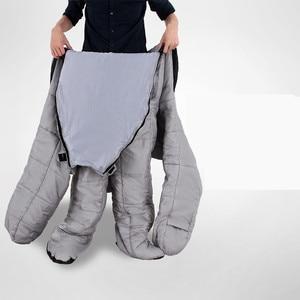Image 4 - Уличный человеческий спальный мешок для взрослых весом 1,9 кг для использования в помещении и кемпинге на осень и зиму 2 размера