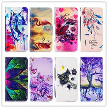 Luxury Flip Leather Wallet Case For Huawei P8 Lite 2017 Book Style Mobile Phone Cases Cover P9 P10 coque