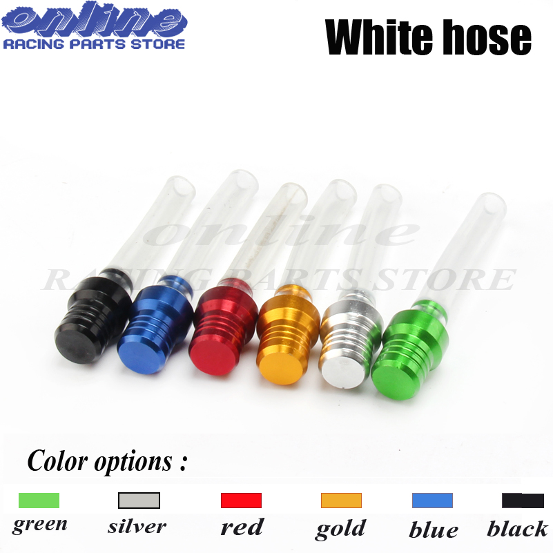 6 x BLACK Petrol Tank Fuel Cap Breather Gas Vent Hose Tube For Motorcycle Tank
