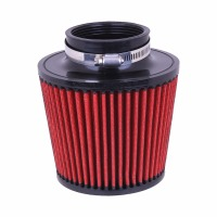 Universal 76mm Car Auto Air Intake Filter Cleaner Hemisphere Mushroom Head Beehive Cleaner Reduce Engine Intake