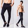 2016 стильный slim fit Колготки узкие брюки мужчины Длинные Влагу брюки Мужские Quick dry fit леггинсы случайных брюки мужские брюки мужчины