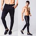 2016 stylish slim fit Calças Justas calças apertadas homens Wicking calças secas Rápidas Masculinos fit leggings calças casuais calças masculinas homens
