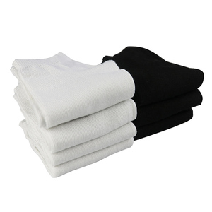 7 زوج المرأة الجوارب قصيرة الإناث الجوارب انخفاض قطع الكاحل الجوارب للنساء السيدات الأبيض جوارب سوداء قصيرة 2019 جديد