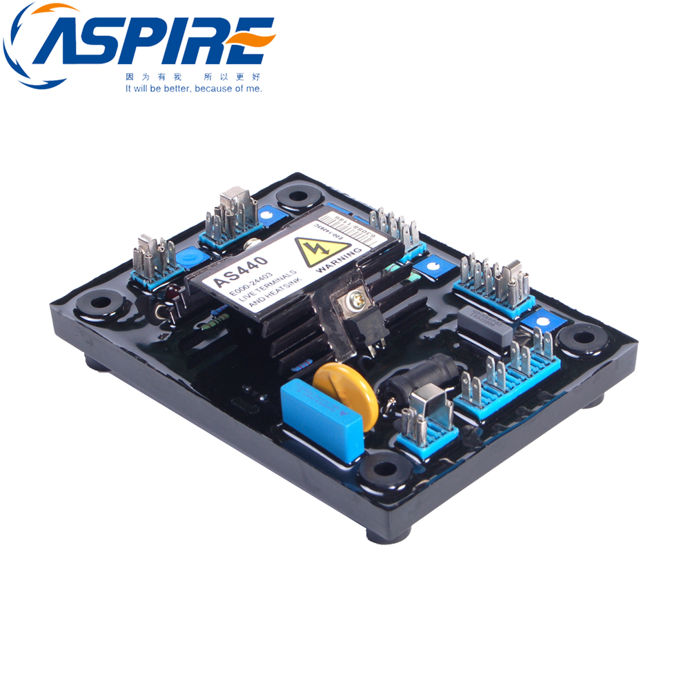 Free Shipping Alternator Spare Parts AVR AS440 Voltage Regulator new free shipping as440 avr automatic voltage regulator avr