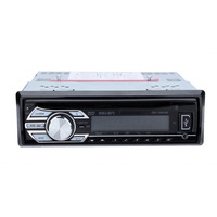 Portable Car Radio Stereo Head Unit CD DVD Player MP4 USB SD AUX IN FM Radio 45 seconds anti shock heat resistant AUX input