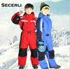 Winter Kids Girls Boys Ski Suit Set Waterproof Children SnowSuit 2T 4T 6T Children Romper Overall