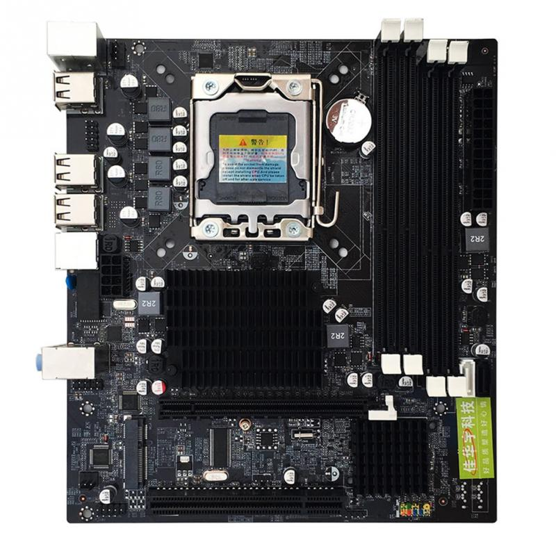 Computer Mainboard Stabilizing High Performance For LGA 1366Pin DDR3 CPU Interface Multi-platform Desktop USB Accessories Parts