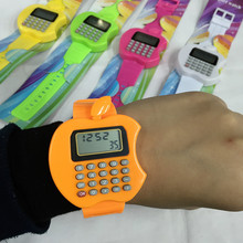 Students examination multifunctional electronic watch calculator
