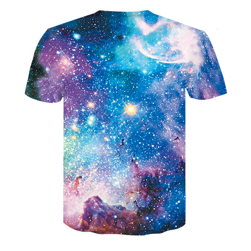 Detail Feedback Questions About 2018 Space Galaxy T Shirt Mens 3d