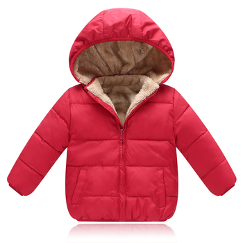 BibiCola Children Outerwear parkas Coat Winter Baby Boys Girls Jackets Coat Infant Warm Baby parkas Thick Kids Hooded Clothes