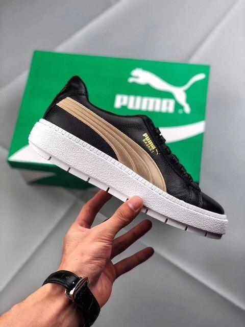 4abe4a968e1 2018 New Arrival PUMA Women s Platform Trace Varsity Women s Sneaker  Rihanna 4 Generation 367728-01 Women Shoes 35.5-39. 1 order