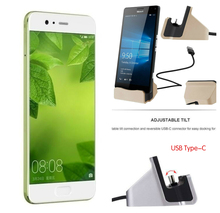 Best Selling USB 3.1 Type C Dock Station For Huawei P10 P10 Plus Honor V9 Mate 9 Charger Dock Station USB C Stand Base