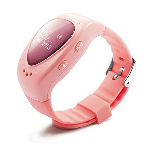 A688 Pink Kids Children GPS Tracker Watch Bluetooth GSM Smart Watch Phone With SOS Emergency Call Anti Lost Alarm Live Tracking