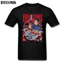 Envío Gratis películas de terror Evil Dead Bruce Campbell Camisetas manga  corta adolescente Horror Halloween gran afa276fa6881
