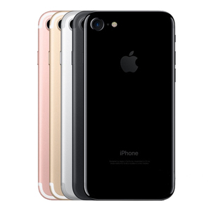 Image 2 - Desbloqueado apple iphone 7 32/128 gb/256 gb ios 10 12.0mp 4g câmera quad core impressão digital 12mp 2910ma iphone7 lte telefone celular