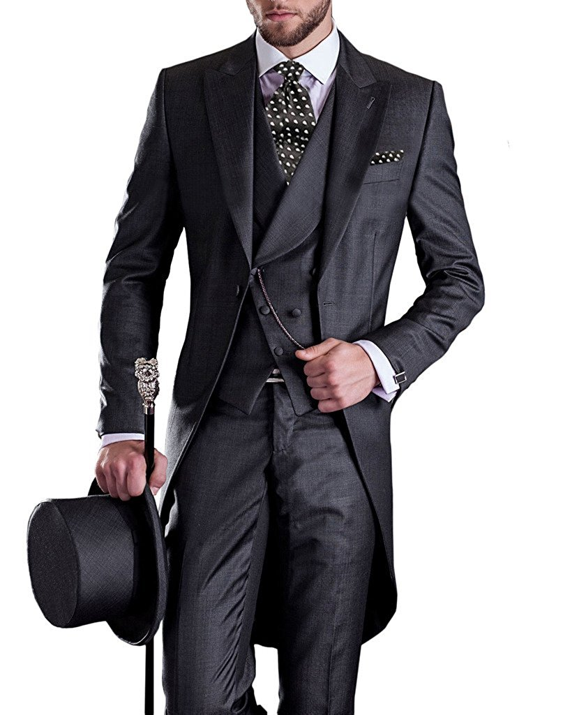 Aliexpress.com : Buy Premium Mens Tail Tuxedo 3pc Tailcoat ...