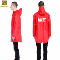 Luxury Hiking Rain Coat Waterproof Ladies Long Rain Poncho Men Raincoat Women Jackets Capa Impermeable Para Lluvia QKR264