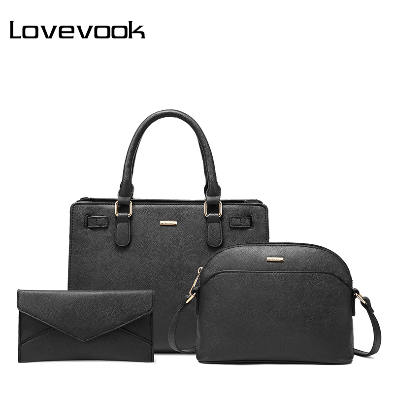 LOVEVOOK Ladies Bags School-Purse Tote Messenger-Bags Shoulder-Crossbody-Bag-Set Handbag Women