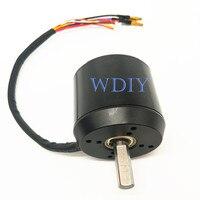 6374 170KV Brushless Motor With Hall Sensor 3000W Electric Off Road Skateboard Engine M10 Motor Shaft 36V
