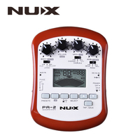 NUX PA 2 Portable Acoustic Guitar Multi Effects Pedal Processor Flat Tuning Function