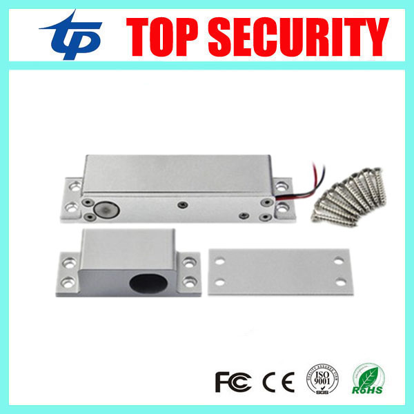 Access control electric bolt lock system lower temperature door control bolt lock  electric access control door lock glass door lock system good quality electric bolt lock for access control system 12v electric lock glass door lock