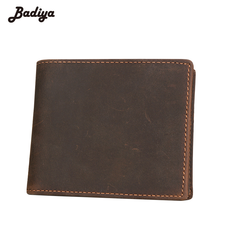 Genuine Leather Mens Wallets Carteira Zipper Coins Purses with RFID Cards Slots Short Walets Male Clutches Dollar Price Bolsa