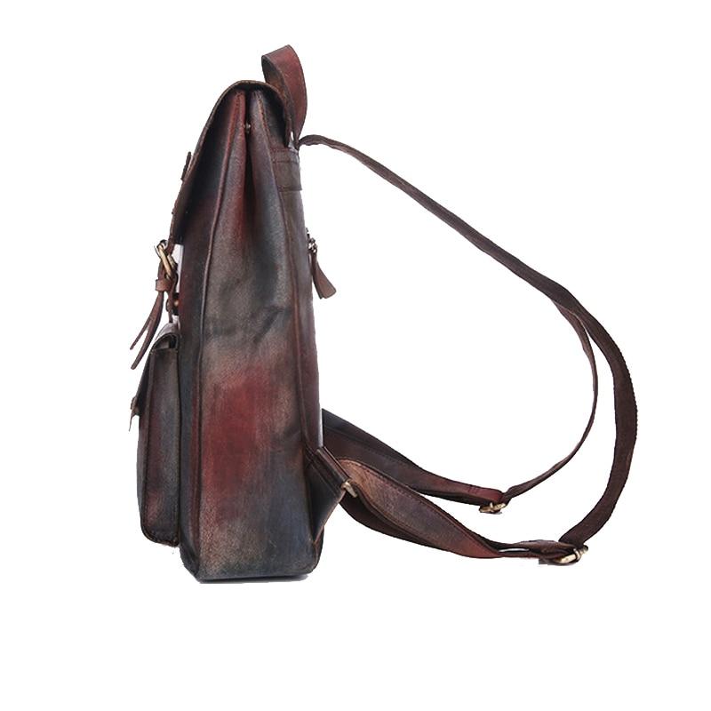 Dos De Pour 2018 Color Bagpack Adolescent D'école En Sac À Dames Véritable Vintage Cuir Marque Filles Norbinus Femmes Luxe dXz4wOO