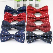 Однотонные модные галстуки-бабочки для жениха, обычные мужские клетчатые галстуки с рисунком бабочки для мужчин, свадебные галстуки-бабочки