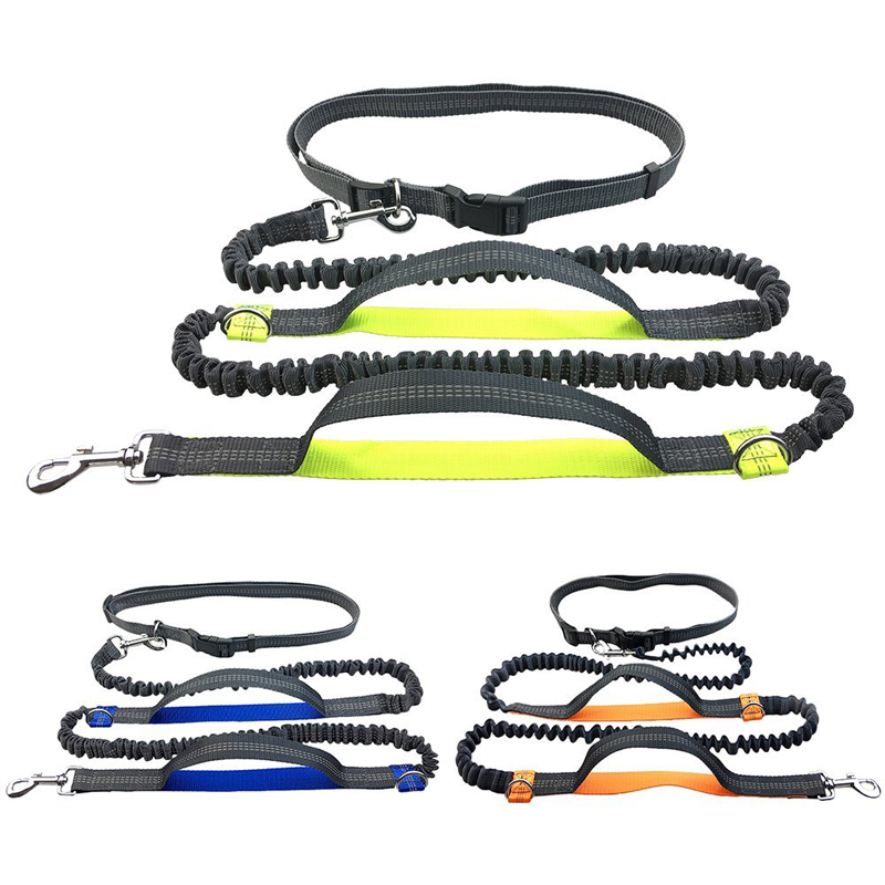 [TAILUP] Pet Dog Running Leash Rope with2 menangani DogJoging - Produk hewan peliharaan - Foto 4