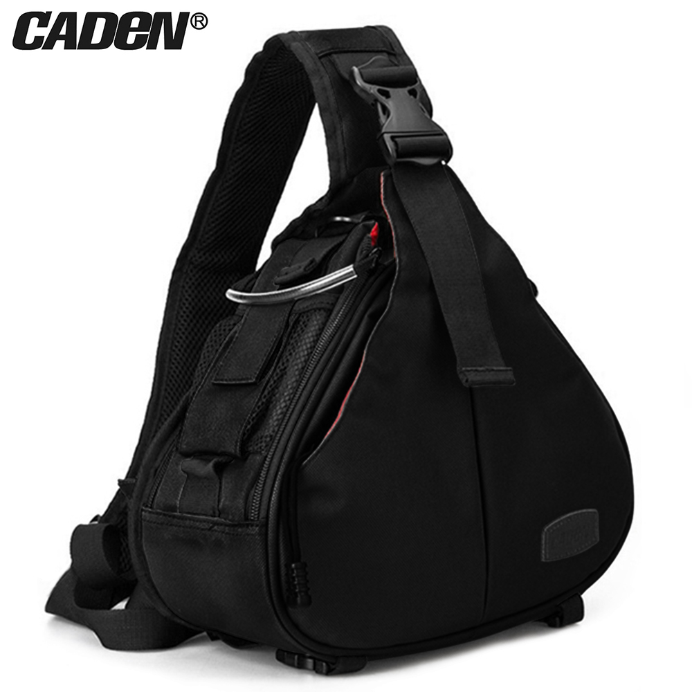 Caden DSLR Camera Sling Digital Photo shoulder waterproof backpack padded insert bag
