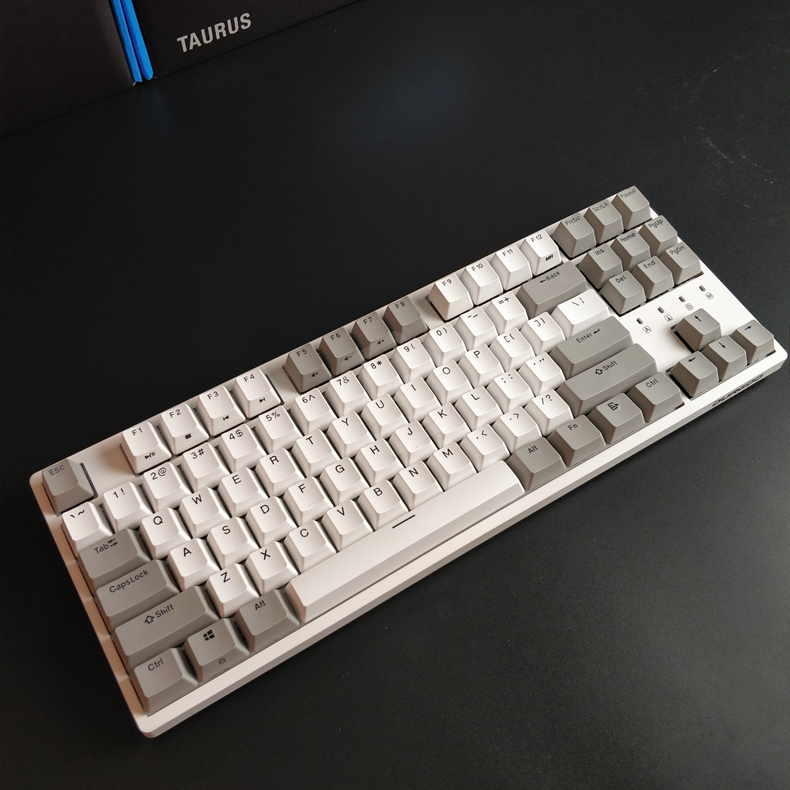 Image 4 - durgod 87 taurus k320 mechanical keyboard using cherry mx switches pbt doubleshot keycaps brown blue black red silver switchcherry mx switchmx switchdoubleshot keycap - AliExpress