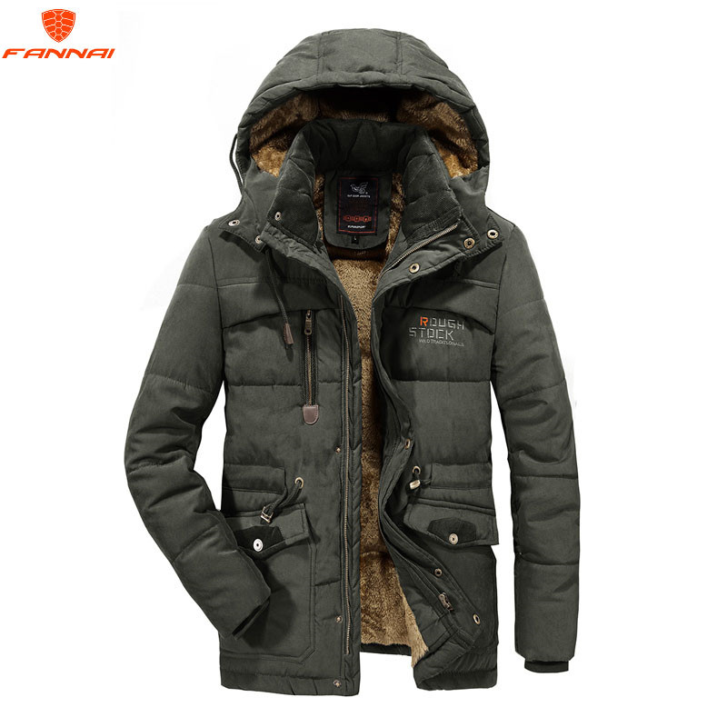 Autumn Winter Men Down Coat Hood Ultra Light White Duck Down Jacket Parkas Male Slim Thin