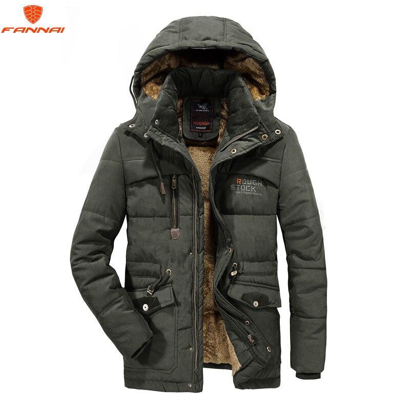 Nowy męska kurtka zimowa 6XL 7XL 8XL grube ciepła parka futro z polaru z kapturem kurtka wojskowa płaszcz kieszenie kurtka zimowa mężczyźni wiatrówka w Parki od Odzież męska na  Grupa 1