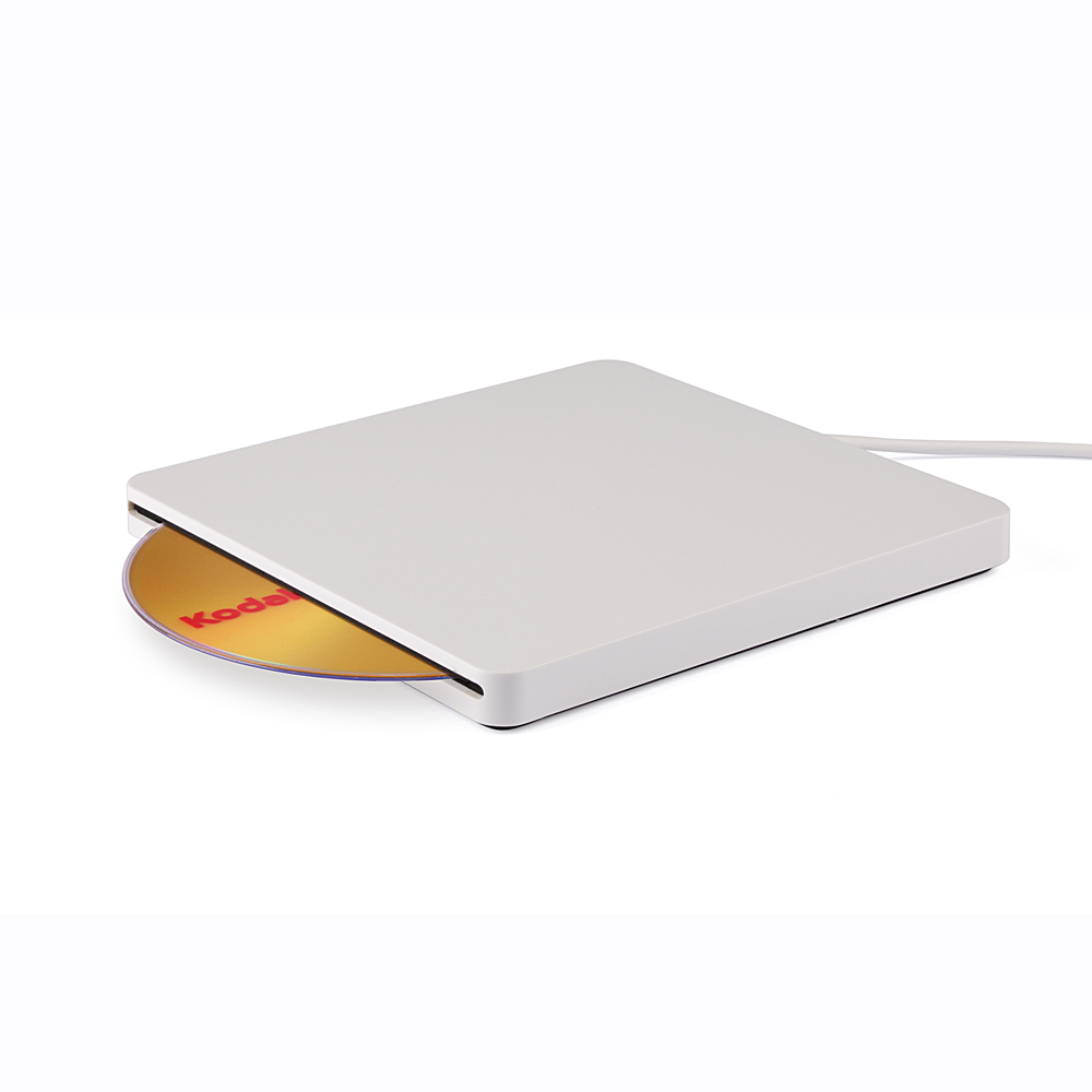 KuWFi USB 3.0 External Slot In Load CD DVD RW Optical Drive Burner Superdrive For Laptop PC Macbook Price $35.00