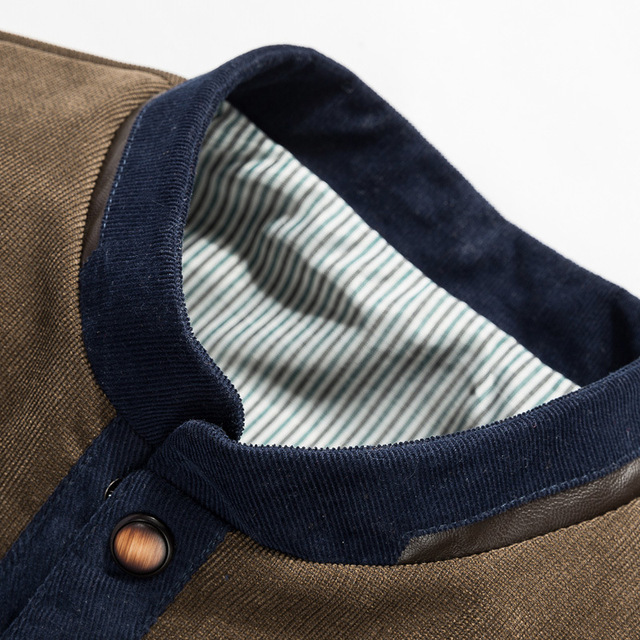 Mountainskin Baseball Uniform Slim Casual Coat 4