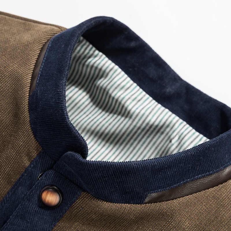 Мужская приталенная куртка Mountainskin, повседневная темно-синяя бейсбольная куртка, верхняя одежда, весна-осень 2019