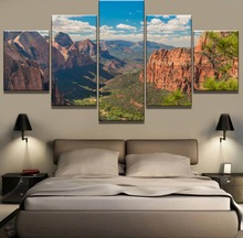 5 Piece HD Print Painting Grand Canyon Cuadros Landscape Canvas Wall Art Home Decor For Living Room Unique Gift Picture