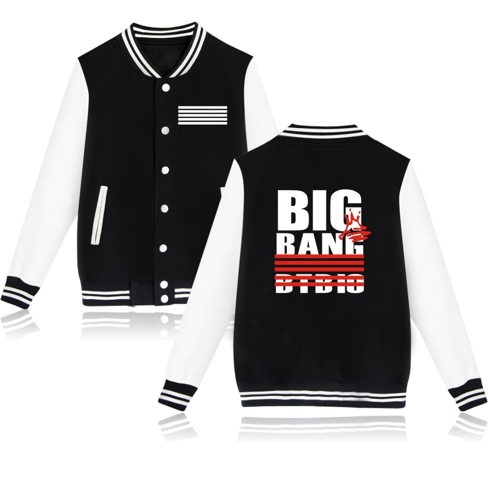 Jacket Cool Style Bigbang GD TOP Print Jacket Winter Jacket Women Plus Size 4XL Winter Jacket Women Luxurious
