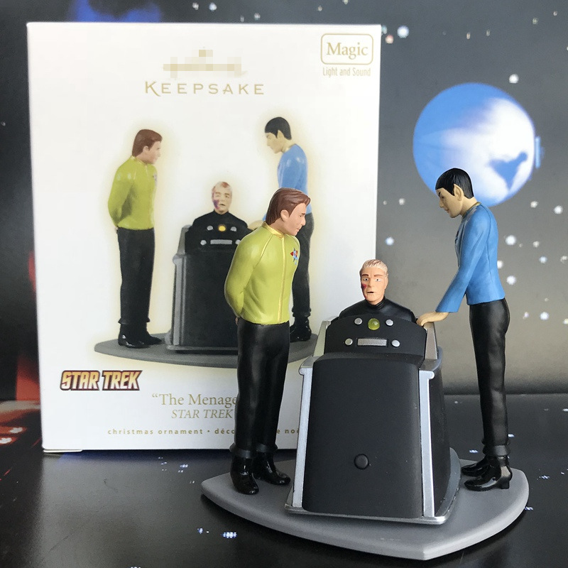 Box Toy Original Garage Kit Classic Toy Star Trek - The menagerie Doll Action Figure Collectible Model Loose Toy Kids Gifts jinx 10 24cm high quality pvc action figure kids toy online game colletion model toy great gifts for kids box free