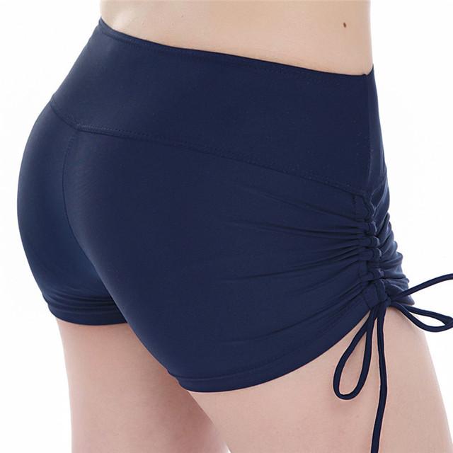 Hot Yoga Shorts Quick Dry | Drawstring Beach Shorts