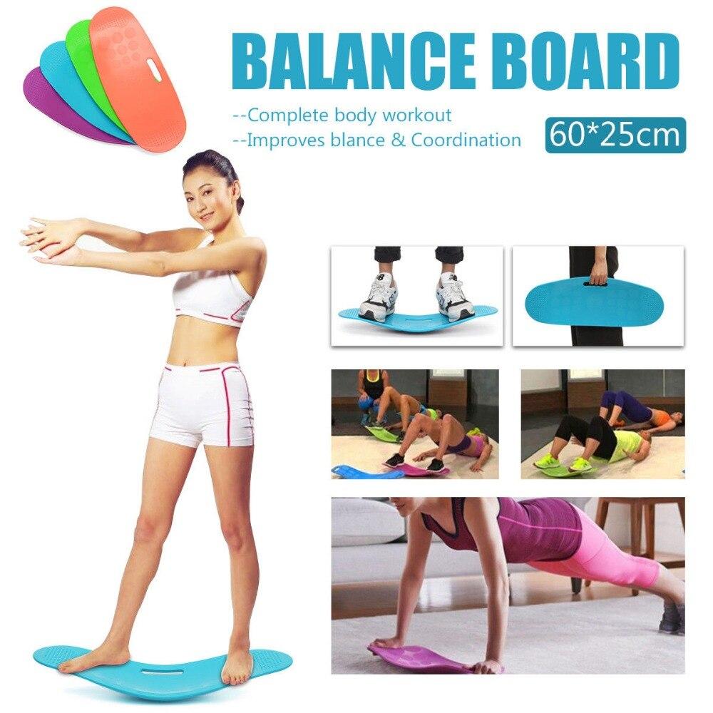 Simplement ajustement conseil nouveau ABS équilibre yoga conseil Fitness torsadé plaque arrière jambes noyau exercice entraînement maison Gym Fit comme on le voit à la télévision
