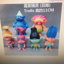 250sets 6pcs/set trolls action figures with shipping