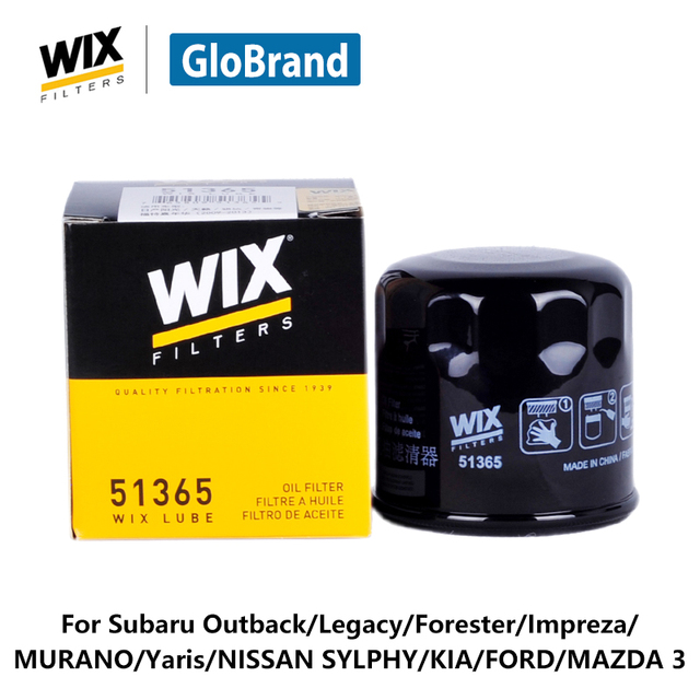 wix filtre huile de voiture 51365 pour subaru outback legacy forester impreza murano yaris. Black Bedroom Furniture Sets. Home Design Ideas
