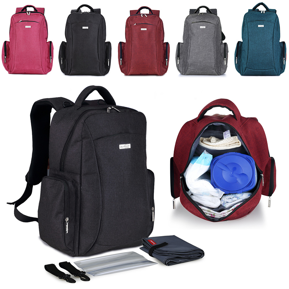 100% Brand New and High Quality Mummy Maternity Nappy Bag Large Capacity Baby Bag Travel Backpack Shoulder Bags hot new 2014 high quality double shoulder backpack men and women s brand travel bag large capacity duffel bag 3 size 4 colors page 6